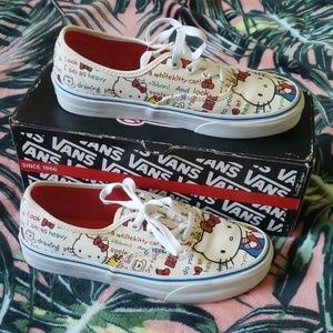 HELLO KITTY x VANS Limited Womens Sneakers Size 7